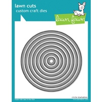 Lawn Cut Lawn Fawn circle stackables Die