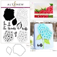 Altenew Hydrangea Stamp & Die Bundle