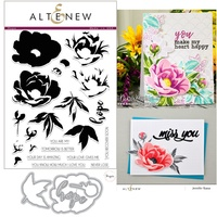 Altenew Hope Stamp & Die Bundle