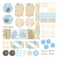 Couture Creations Die Cut Ephemera Pack New Adventures 59pc