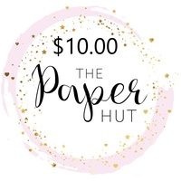 The Paper Hut Electronic Gift Voucher $10.00