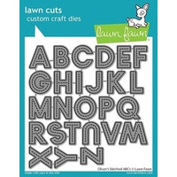 Lawn Fawn Oliver's Stitched ABC Die Set