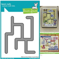 Lawn Fawn Slide on Over Maze Die