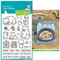 Lawn Fawn Photopolymer Den Sweet Den Stamp Set