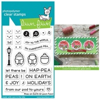 Lawn Fawn Photopolymer Peas on Earth Stamp Set