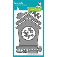 Lawn Fawn Magic Iris Birdhouse add-on Die Set