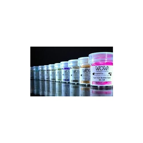 WOW Embossing Powder .5oz/15ml bottle Assorted Colours