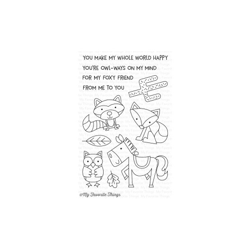 My Favourite Things Critter Clan Stamp Set