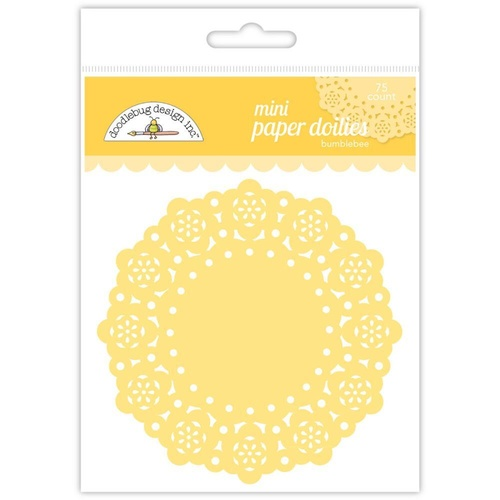 Doodlebug Mini Paper Doilies Assorted Colours