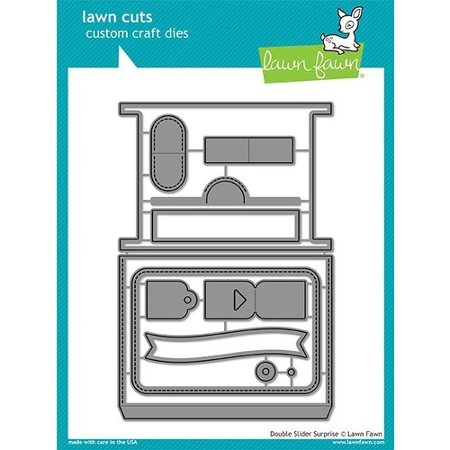 Lawn Fawn Double Slider Suprise Die Set