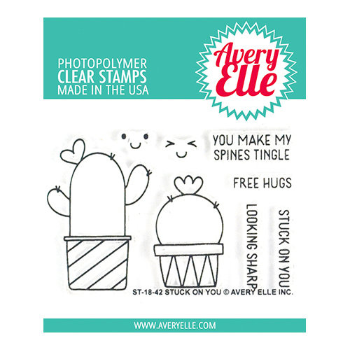 Avery Elle Stuck on You Stamp Set