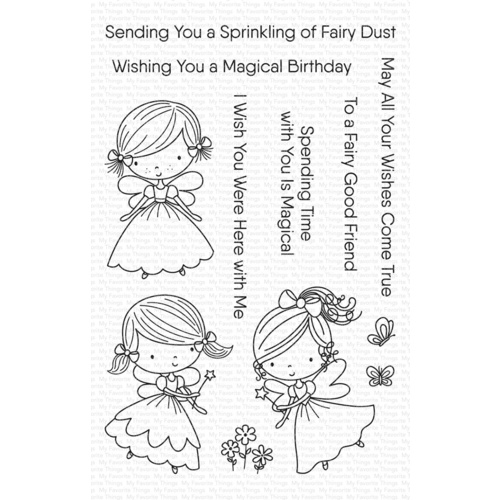 My Favorite Things Fairy Good Friends Stamp Set