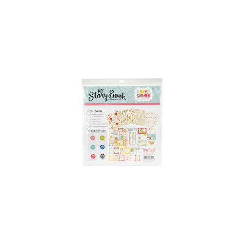 Echo Park My Story Book Pocket Page Kit Happy Summer