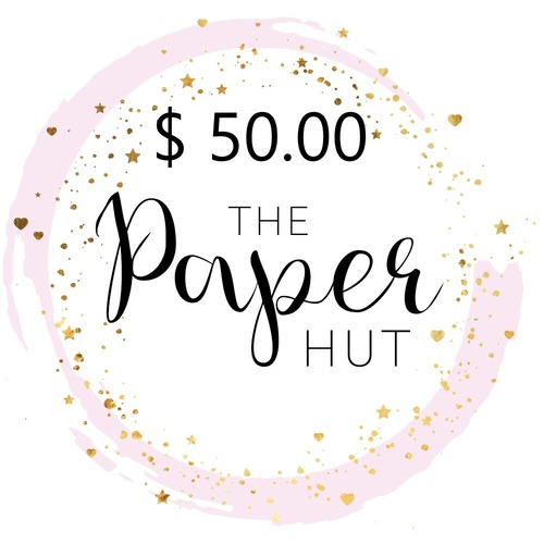 The Paper Hut Electronic Gift Voucher $50.00